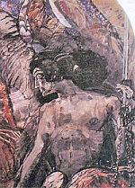 """М.А. Врубель. Фрагмент картины """"Пророк"""""""