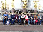 Делегация студентов УлГТУ из числа иностранных граждан в Москве