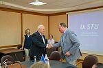 Подписание соглашения между УлГТУ и НГИЭУ