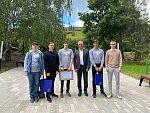 Встреча с Губернатором учащихся Компьютерной школы ФИСТ УлГТУ