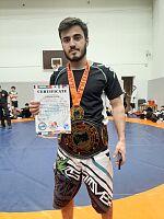 Студент УлГТУ стал обладателем железного фирменного чемпионского пояса «MOSCOW BATTLE IX»