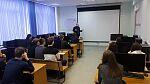 Экскурсия учеников СШ №57 на ФИСТ УлГТУ