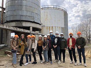 Студенты базовой кафедры УлГТУ посетили экскурсии по предприятиям филиала «Ульяновский» ПАО «Т Плюс»