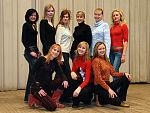 Участницы конкурса Мисс УлГТУ-2005
