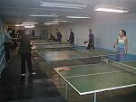 Ping-pong playing facilities